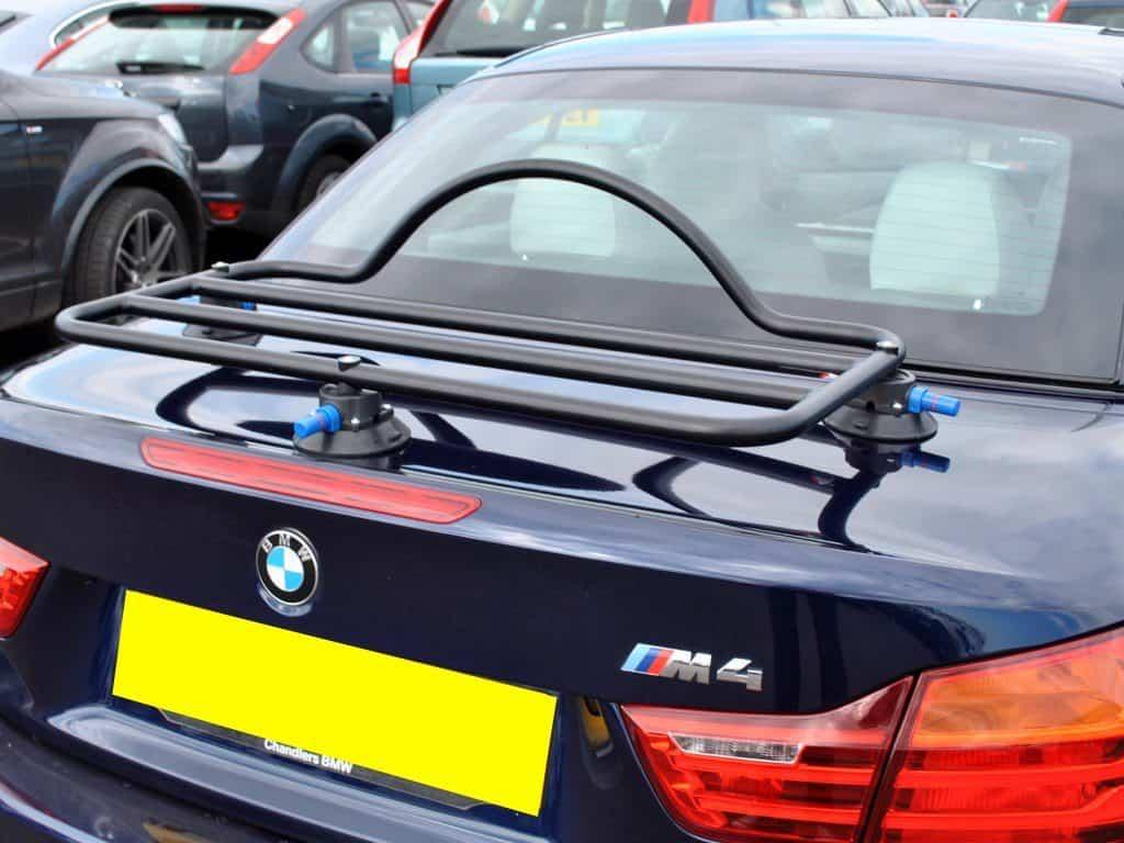 porte-bagages revo-rack adapté à la BMW Série 4 décapotable