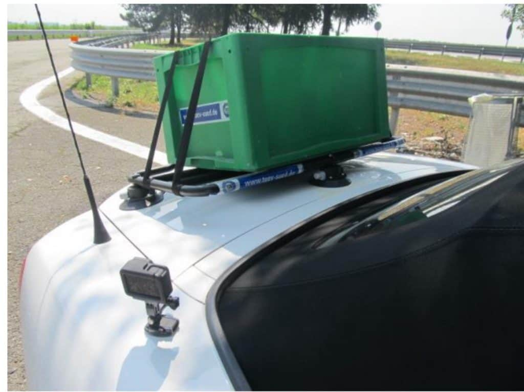 porte-bagages revo rack TUV testé selon ISO 11154