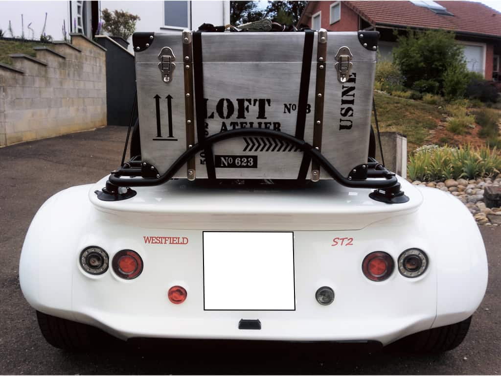 Caterham Lowcost westfield luggage rack - Convertible
